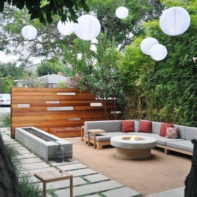 outdoor dining terrace modern landscape toronto genus loci