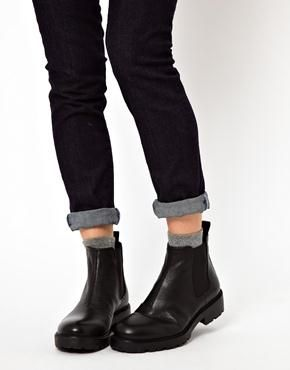 quality design dd3d1 89823 Vagabond Vagabond Kenova Flat Chelsea Boots At Asos   wear ...