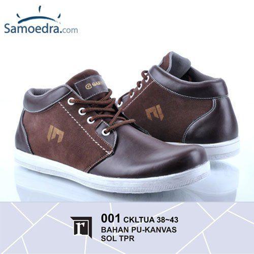 Sepatu Kulit Casual Pria Garsel R001 Tersedia Berbagai Macam