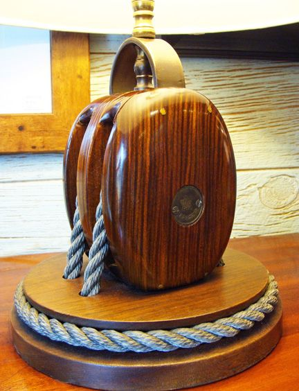 portsmouth let there be light nautical table pulley light et rh pinterest fr