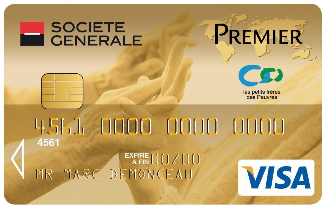 Carte Visa Premier Societe Generale Les Petits Freres Des Pauvres
