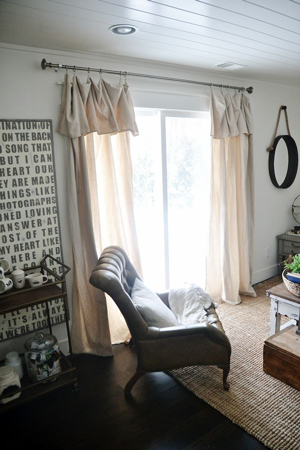 new curtains some diy no sew curtains decorating pinterest rh pinterest ca
