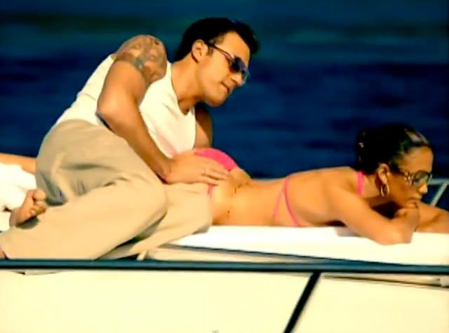 17 Celebrity Music Video Cameos Jennifer Lopez Boating Pictures