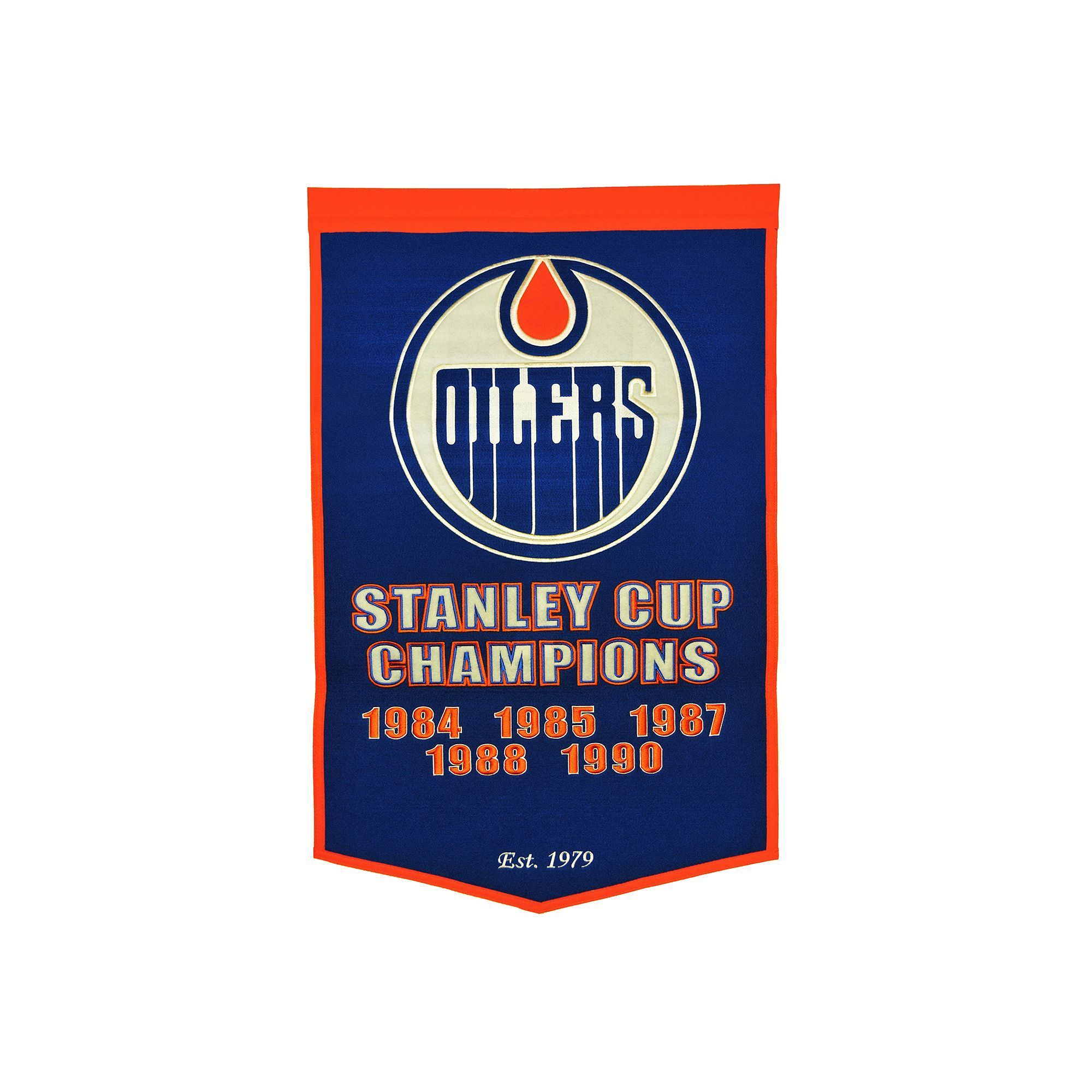 watch a9906 93e35 Edmonton Oilers Dynasty Banner | Products | Edmonton Oilers ...