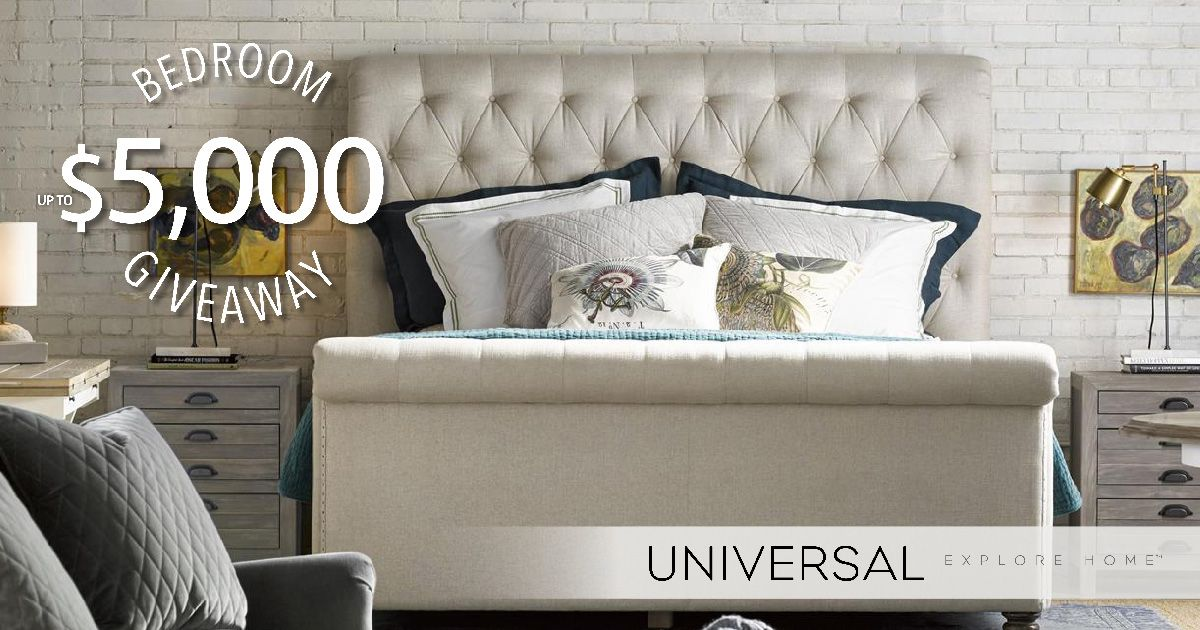 Universal Furniture 5 000 Bedroom Giveaway Universal Furniture