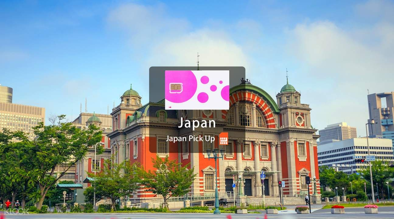 Japan Prepaid Sim Card For Tourists Airport Pick Up Klook