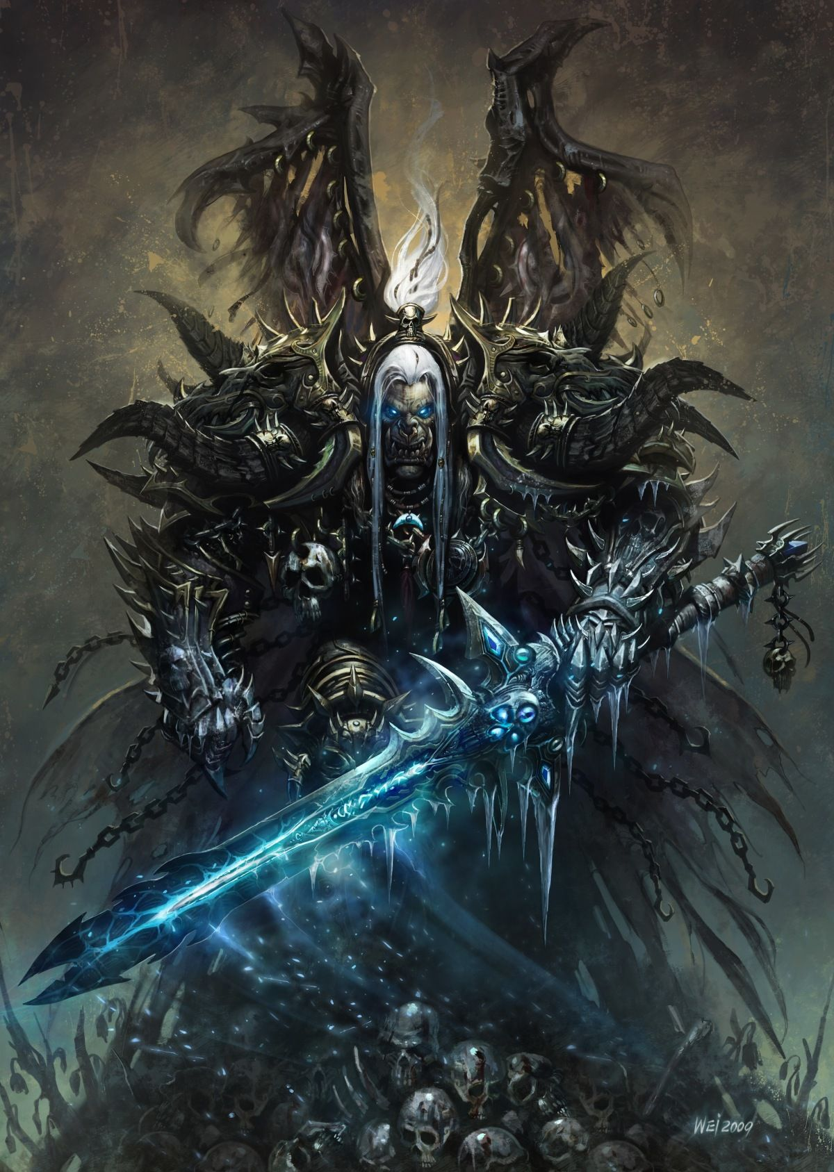 WC3 More Corrupted Arthas Arthats Lich King Orc Winged Undead