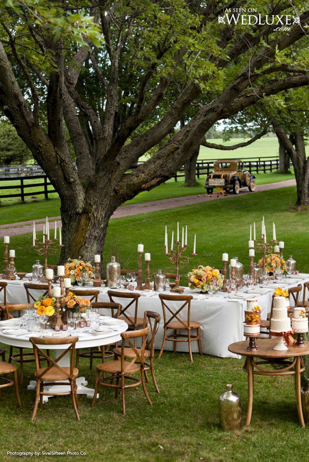 Marvelous Rustic Chic Backyard Wedding Party Decor Ideas ...