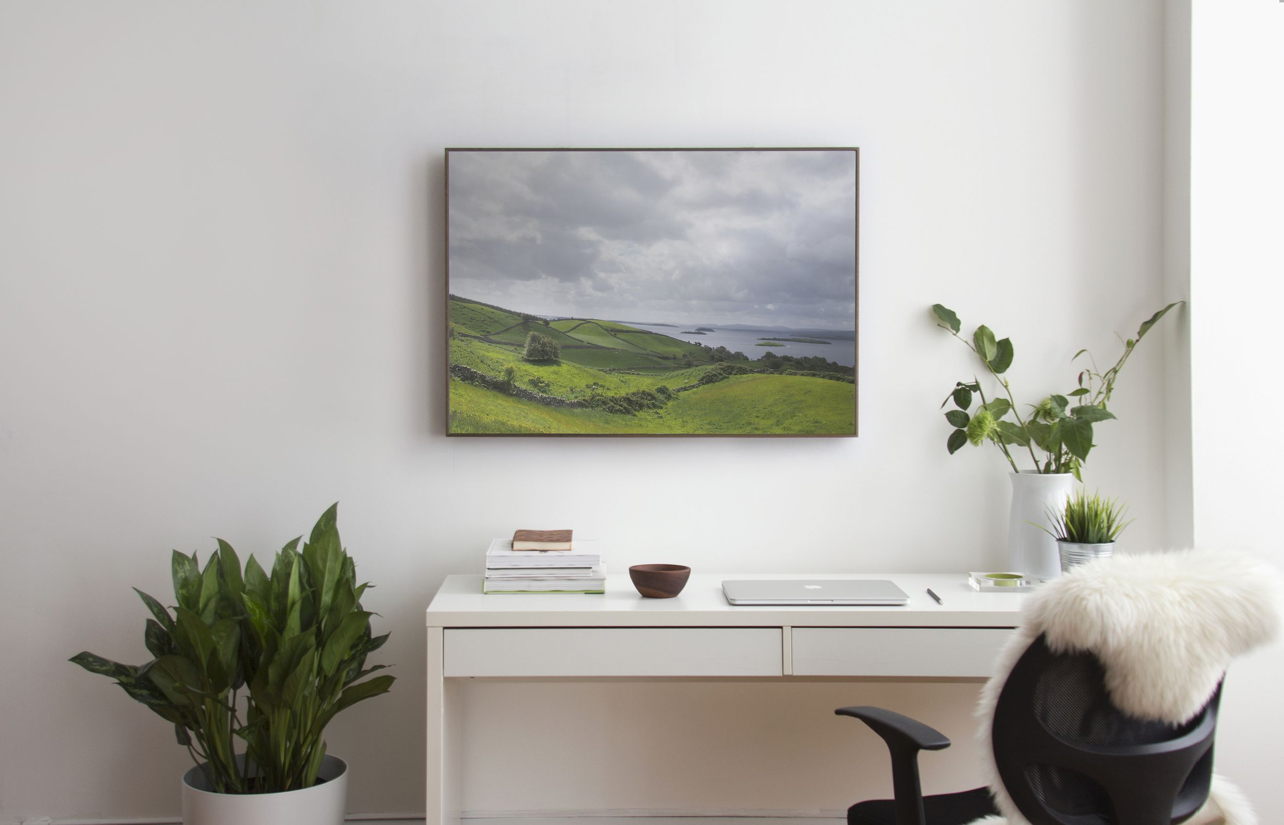 Soundwall is a smart product that hangs on your wall, looks ...
