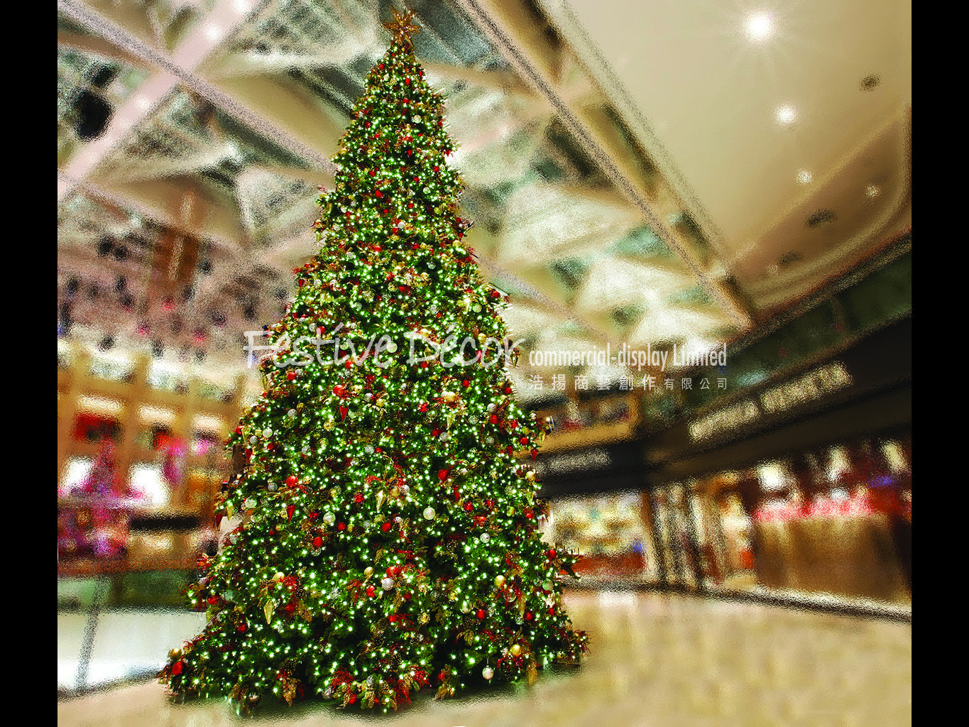Christmas Tree Decoration And Installation In Hong Kong For Indoor Display Christmas Tree Decorations Christmas Tree Tree Decorations