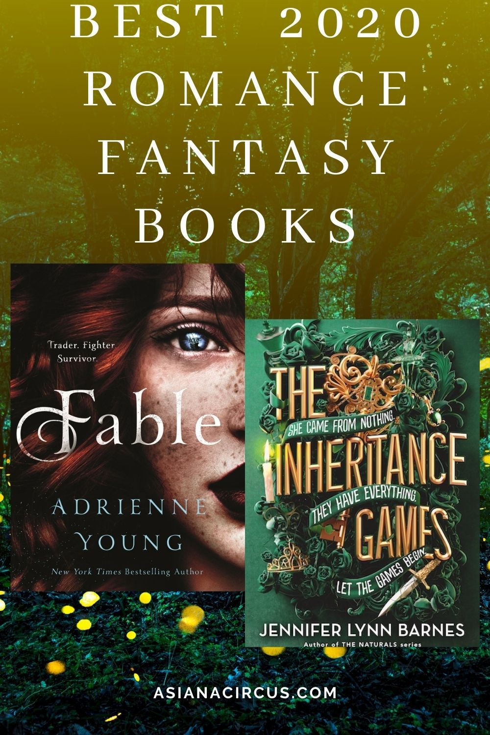 51 Best Romance Fantasy Books Novels To Read 2020 Asiana Circus Romantic Fantasy Book Fantasy Books Fantasy Book Series