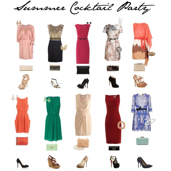 Summer Cocktail Party Outfits  1c2462bbb4a