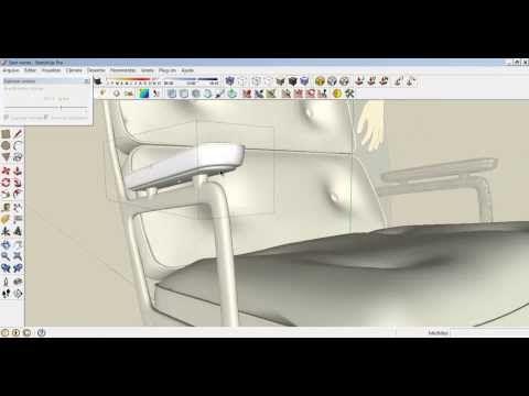 Importação de Blocos 3D Max para Sketchup - YouTube   3D max