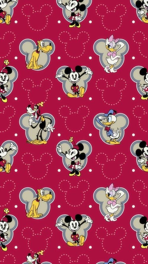 wallpaper | Wallpapers & Fabrics & Prints... | Mickey mouse