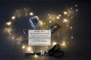 05 Wc 1531 Led Mini Light Set 2 M Warm White Mfc With Remote