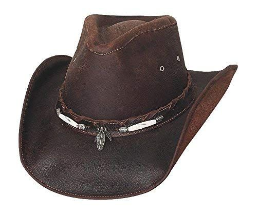 407bc72e9 Bullhide Briscoe Chocolate Top Grain Leather Western Hat 4052CH Review