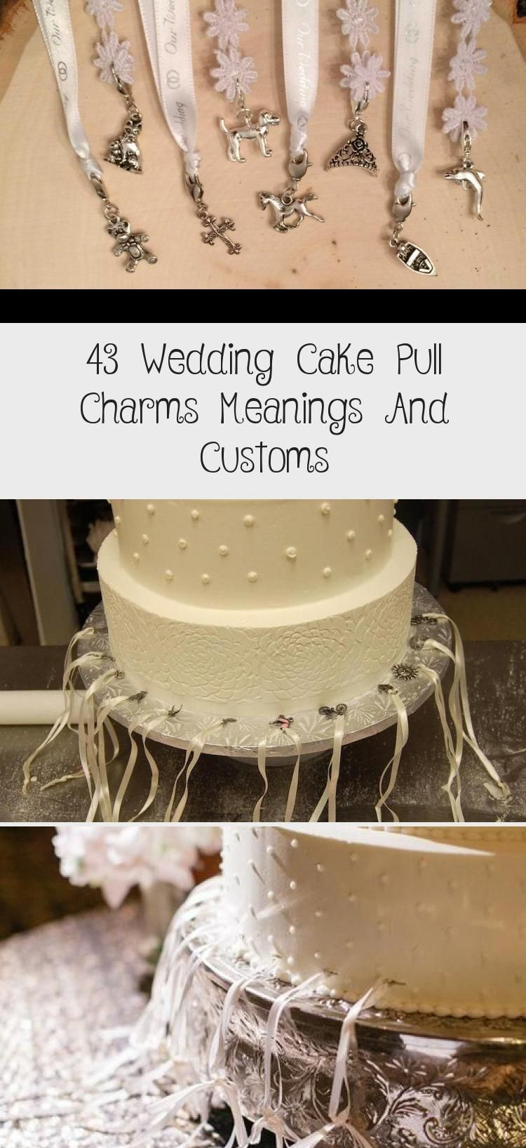 43 Wedding Cake Pull Charms Meanings And Customs Cake In 2020 Wedding Cake Pull Charms Cake Pull Charms Wedding Cake Pulls