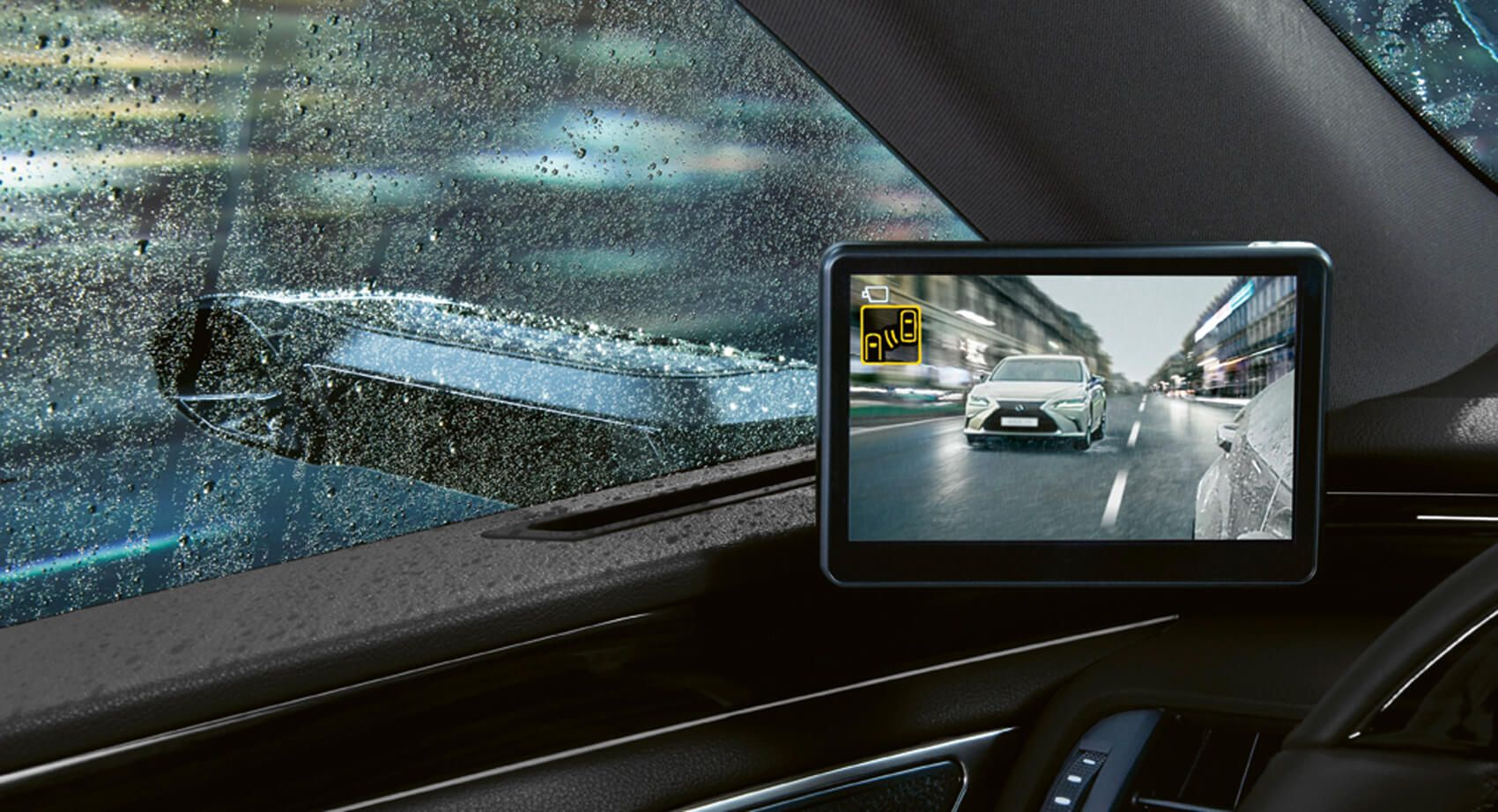 Europe Lexus ES Drops Traditional Side Mirrors In Favor
