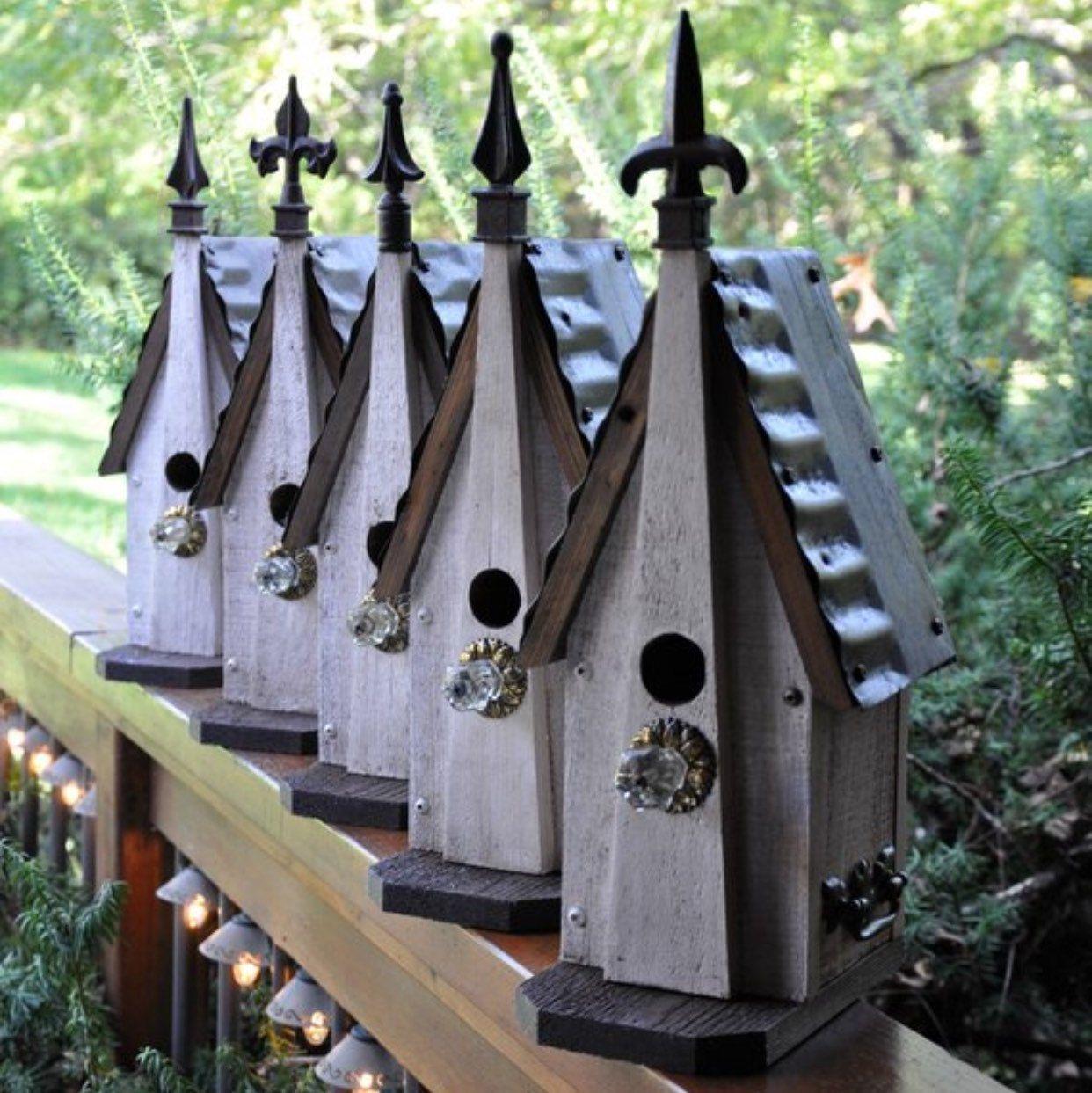 Updates von RebeccasBirdGardens auf Etsy #birdhouses