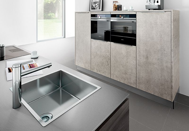 Häcker küchen fronten beton