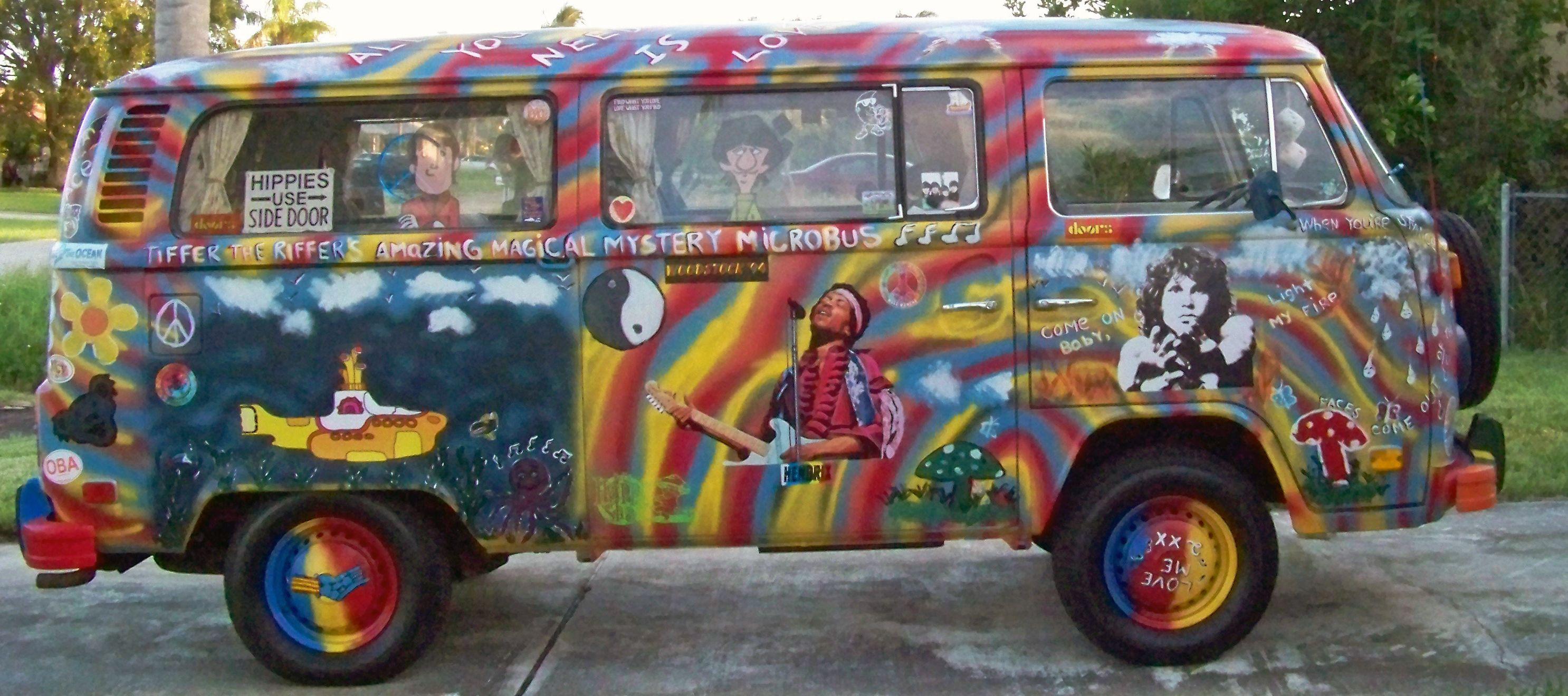 hippie van 1960 the image kid has it. Black Bedroom Furniture Sets. Home Design Ideas