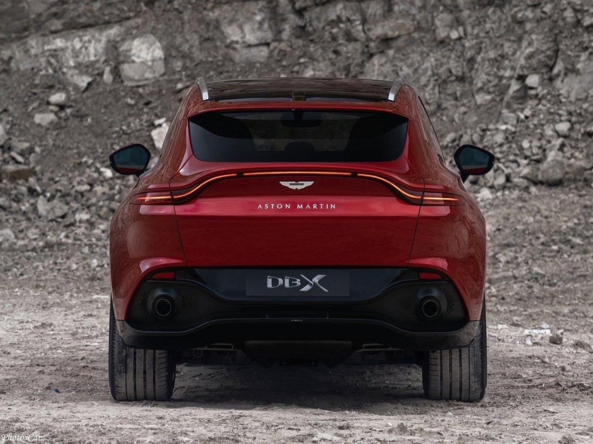Aston Martin DBX 2021 Le tout premier SUV du