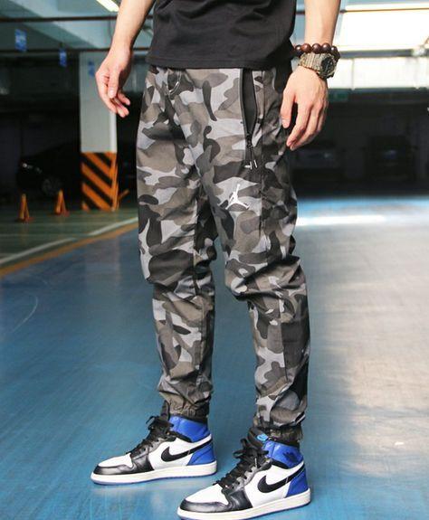bbd9bfc72a52d7 NIKE AIR JORDAN CAMOUFLAGE JOGGER PANTS CASUAL PANTS796113 Camouflage  Pants