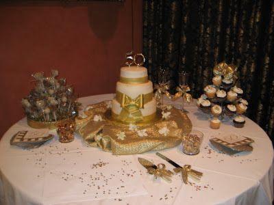 Wedding Decorations: 50th Wedding Anniversary Decorating Ideas ...