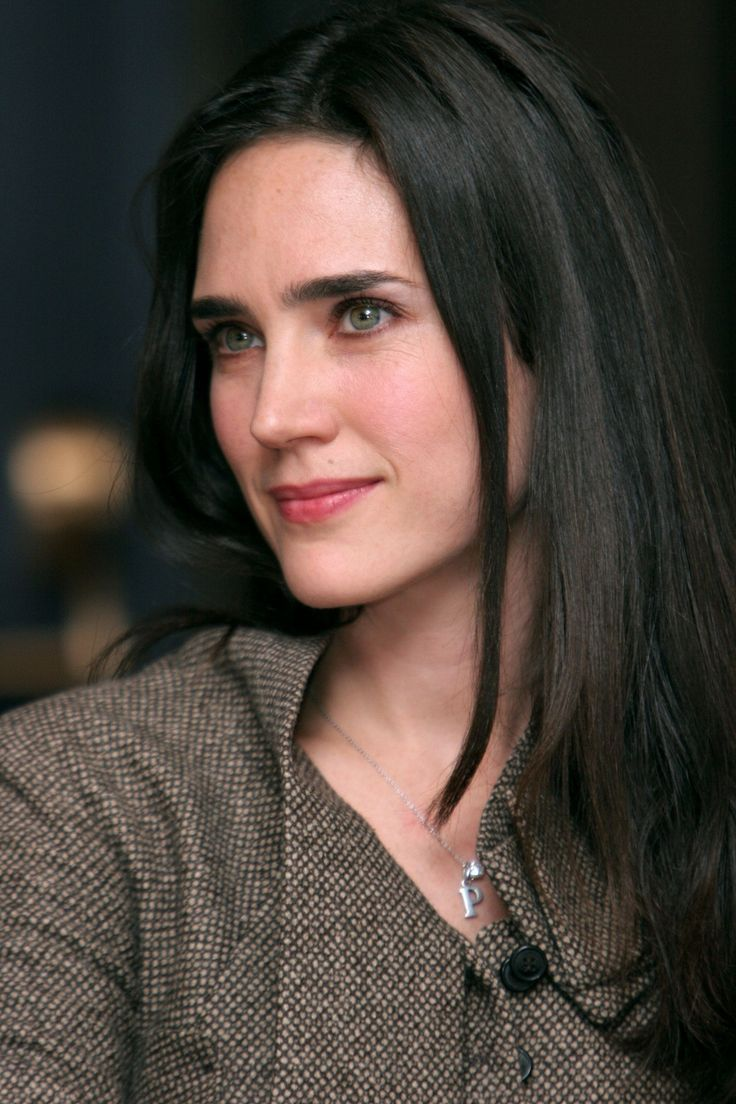 Jennifer Connelly stunning enigmatic smile portrait ...