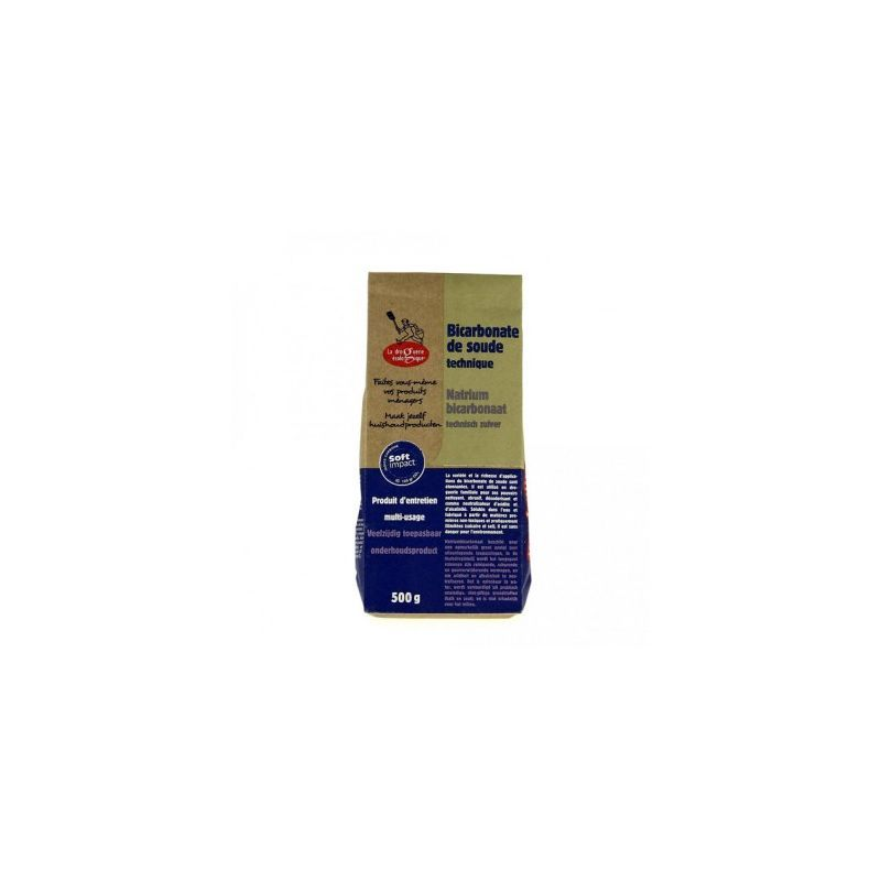 Bicarbonate de soude 500g – un produit ménager pour la maison – BIOVIE
