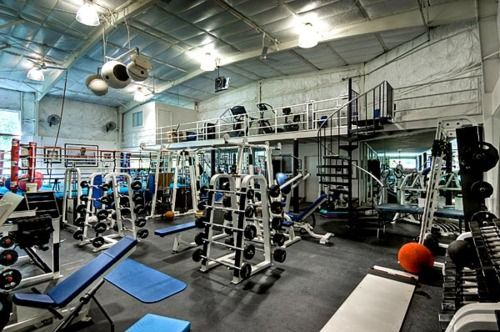 A look at actor Mark Wahlberg's massive home gym.  Insane!