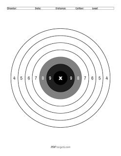 Basic Bullseye Targets