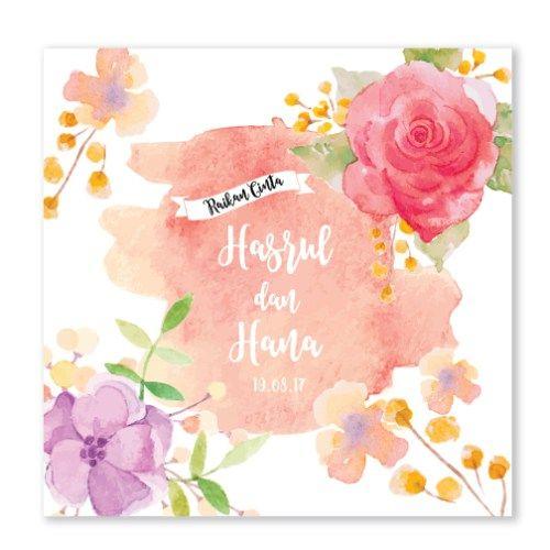 Kad Kahwin Floral 61 Chantiqs Kad Kahwin Wedding Cards Wedding Wedding Invitation Cards