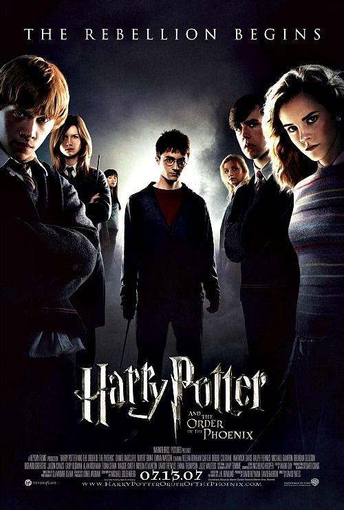 44 365 Films Harry Potter The Order Of Harry Potter Movie Posters Harry Potter Order Harry Potter Movies