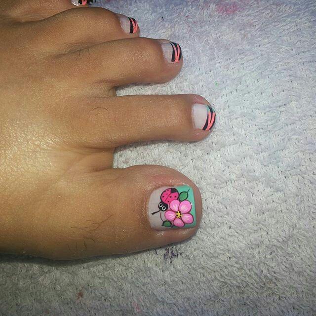 Pin de blanca aguirre en Pedicura | Pinterest | Diseños de uñas ...