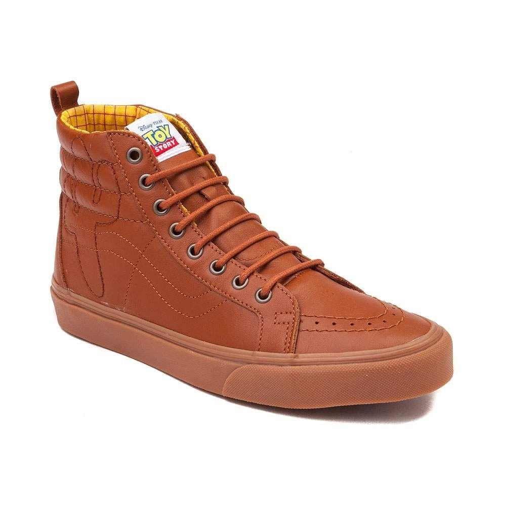 vans sk8 hi nylon skate shoe