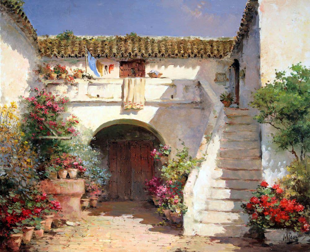 Http Www Galeriapuertadealcala Com 200805 17 Jpg Pintor Paisajista Paisajes Pinturas De Paisajes
