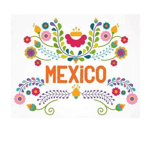 Guarda Con Flores Mexicanas Buscar Con Google Viva Mexico