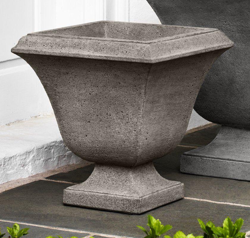 Trowbridge Cast Stone Pot Planter Planters Cast Stone Urn Planters