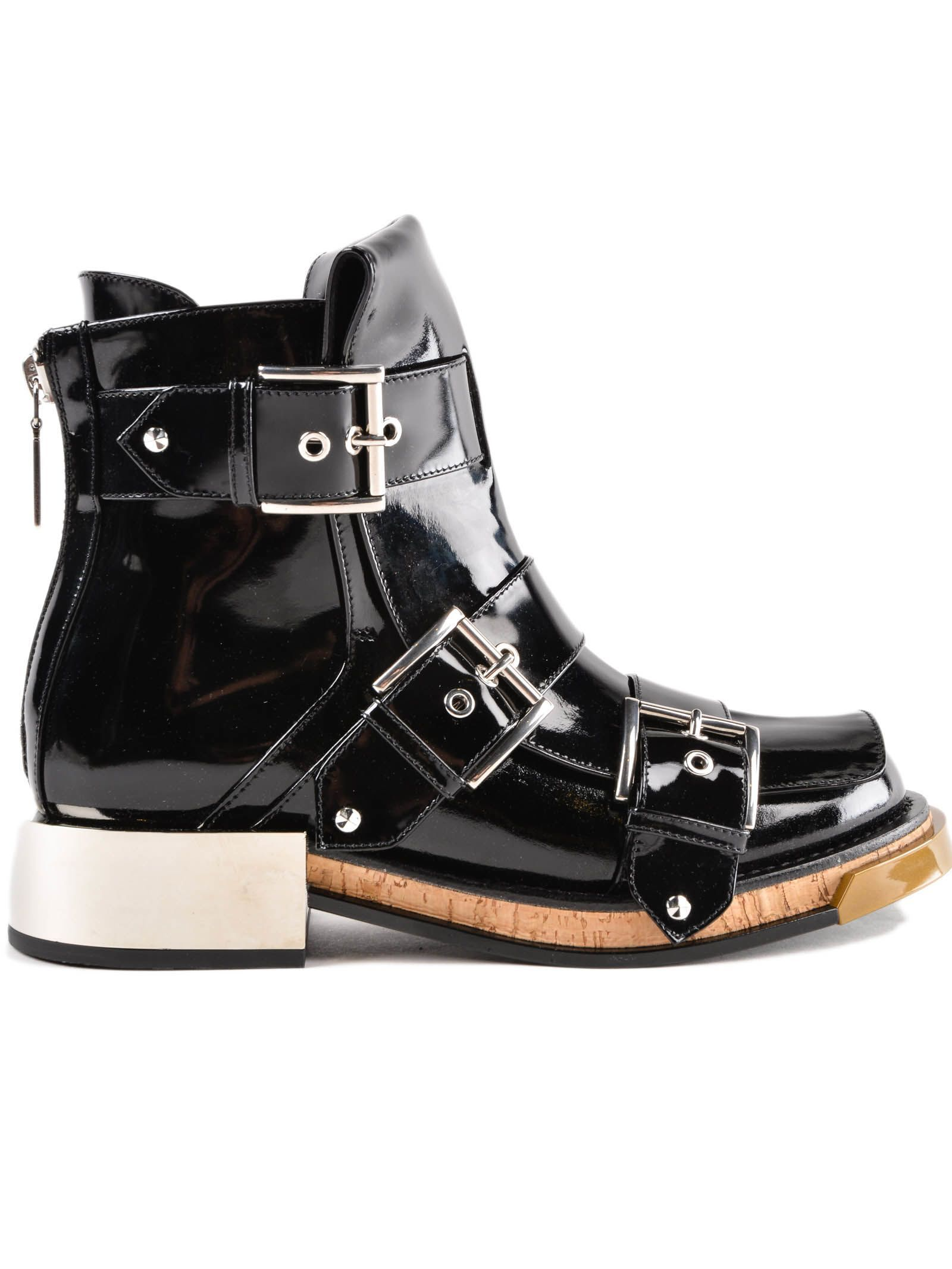 ALEXANDER MCQUEEN | Alexander McQueen Alexander McQueen Biker Boot #Shoes  #Boots #ALEXANDER MCQUEEN