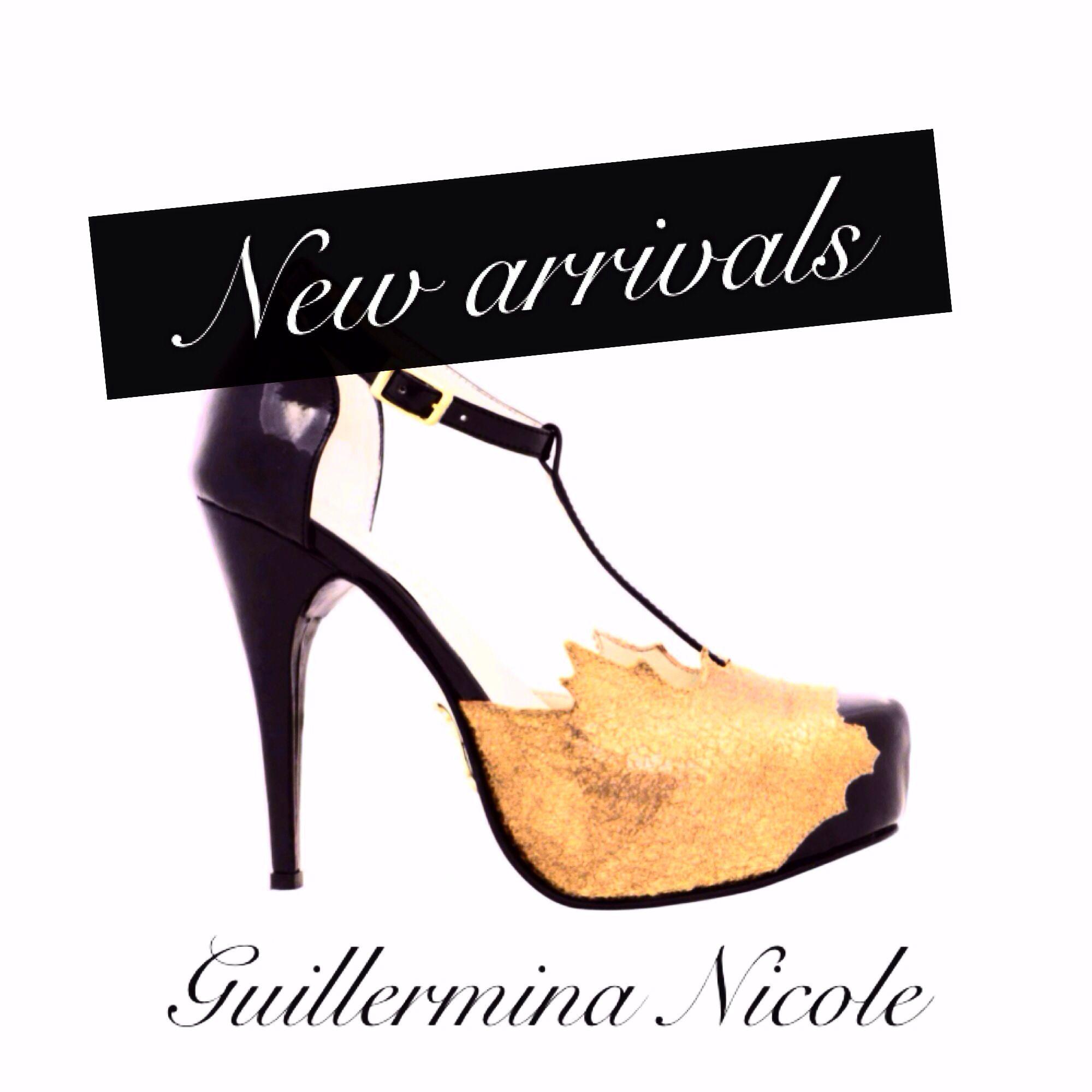Ya llegaron a nuestro Showroom Guillermina Nicole colección NIKKA inv 2014 #nikka #nicoleneumann #guillerminanicole #hojas #fashion #shopping #shoes #crueltyfree