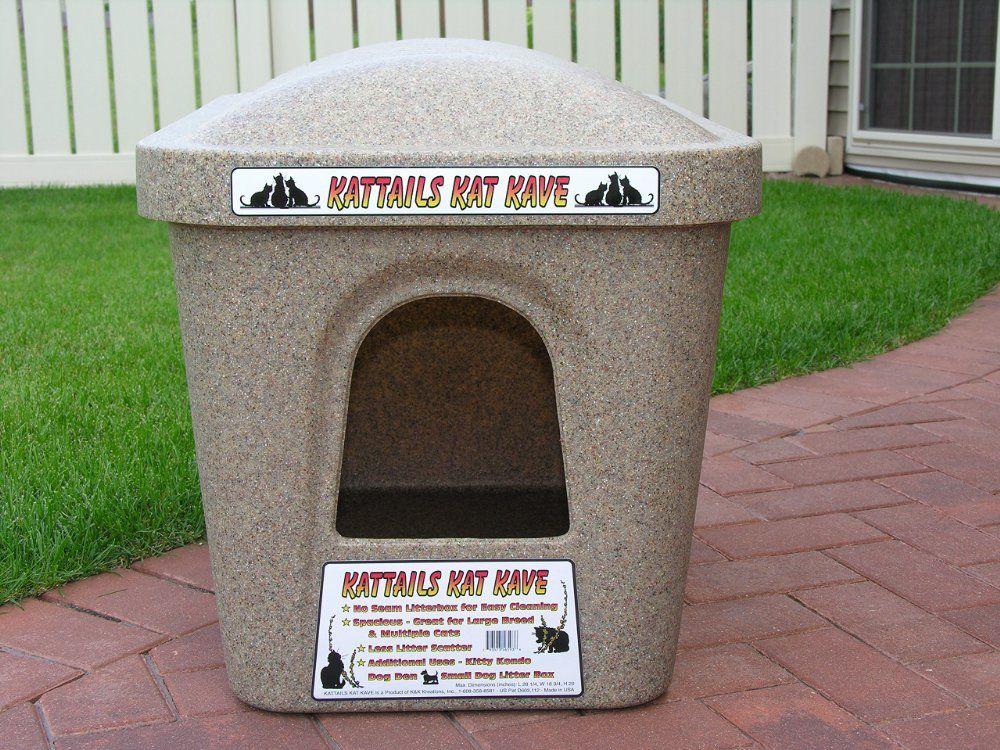 Kattails Kat Kave Litter Box (Extra Large Cat Litter Box