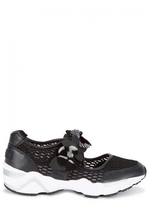 Suecomma Bonnie Jewel Strap Mesh Sneakers GdzZEK
