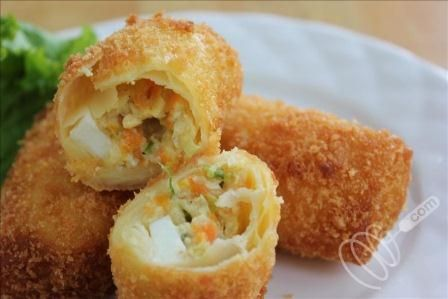 Resep Risoles Rogut Ayam Indonesianfood Resep Masakan Makanan Indonesia