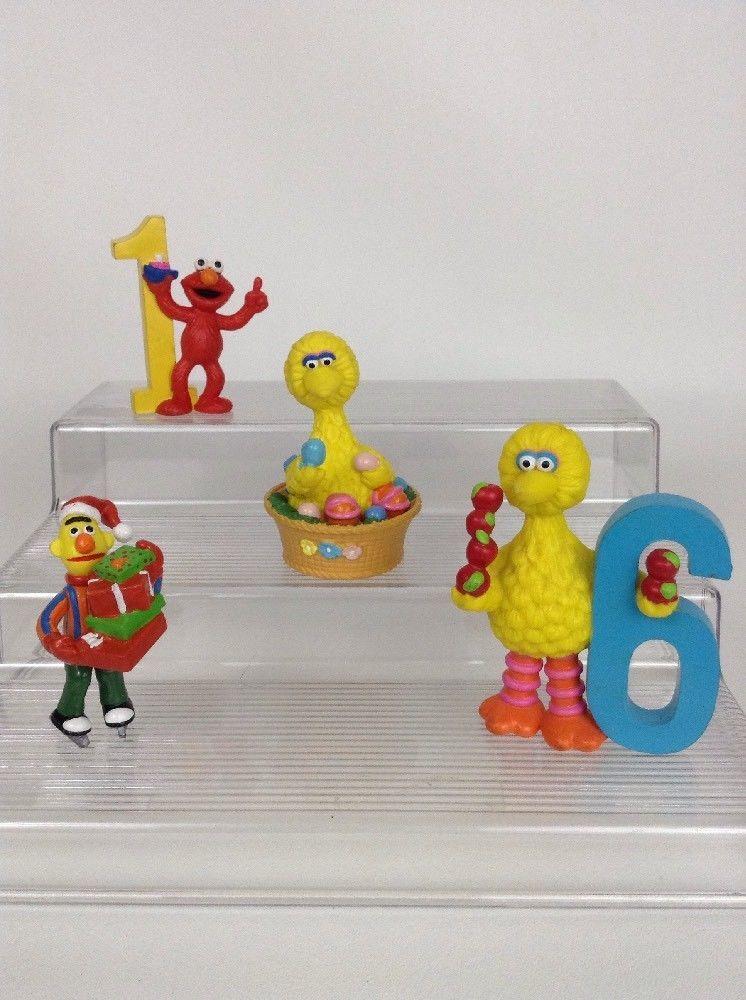 Applause muppets sesame street lot figure toys big bird