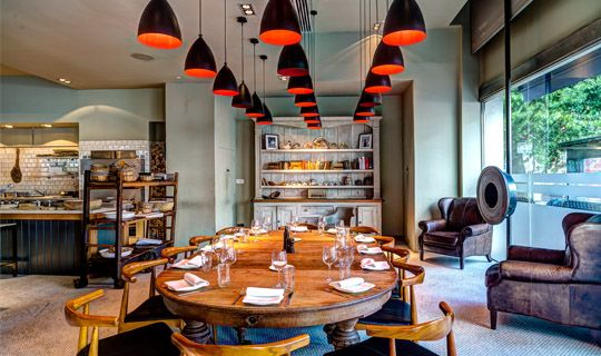 Nordlux Slope 22 (71713002) Black U0026 Red Pendant Lights In The Private  Dining Room