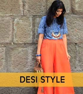 Top Indian fashion blogs : Palazzo pants | www.lookinggoodfeelingfab.com
