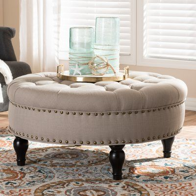 Lark Manor Cardere Cocktail Ottoman