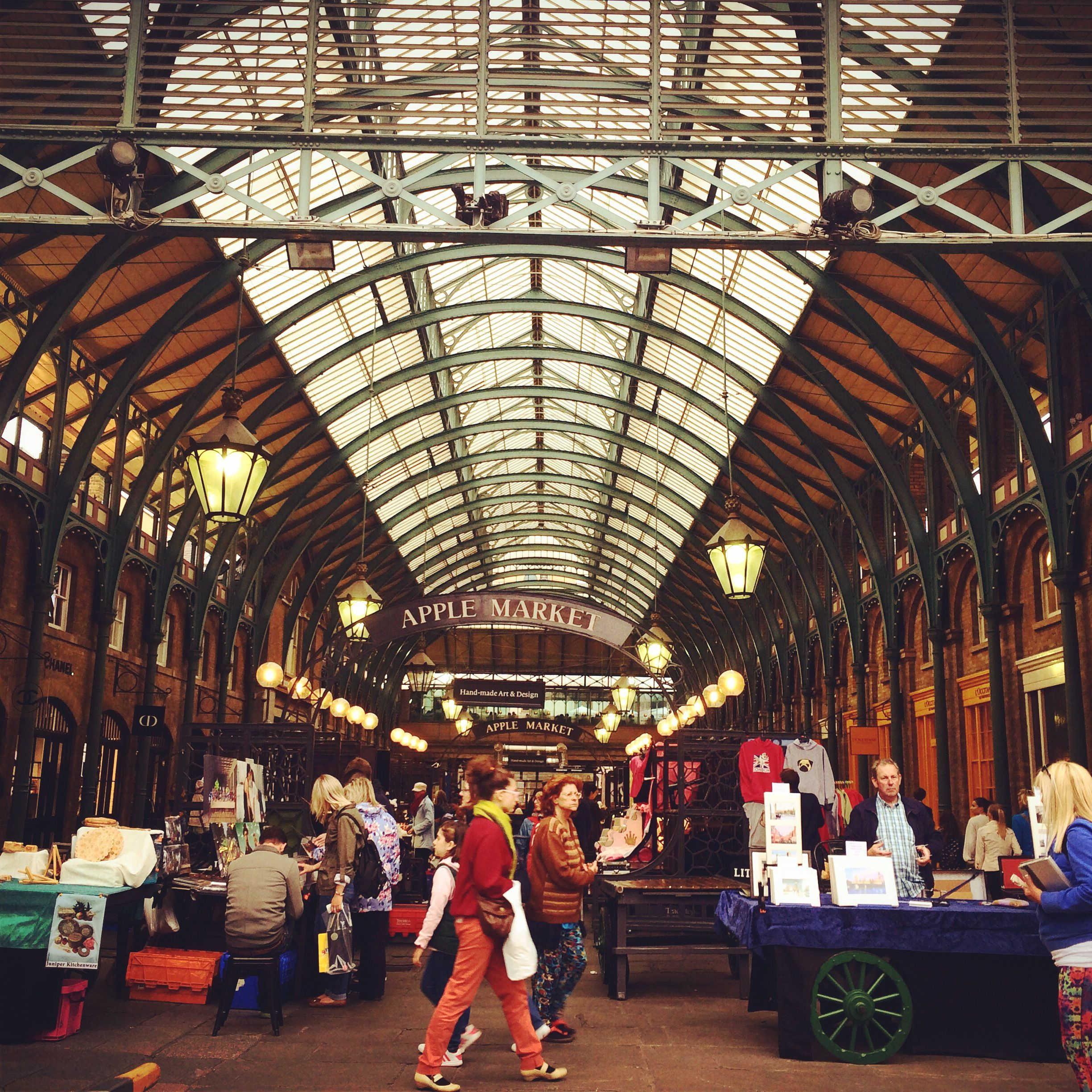 Covent Garden Market, London. Lonely Covent