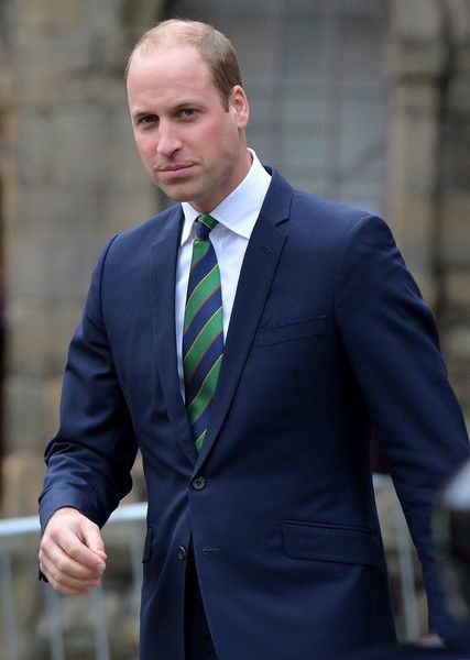 Prince William Photos Photos - Prince William, Duke of Cambridge during a visit to Stirling Castle on October 24, 2016 in Stirling, Scotland.  The Duke of Cambridge in his role as Earl of Strathearn is Patron of The Thin Red Line Appeal to redevelop The Argyll and Sutherland Highlanders Regimental Museum at the Castle. - Duke Of Cambridge Visits Stirling Castle